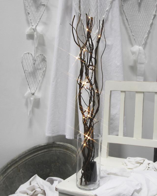 led deko weidenzweige willow battery braun batteriebetrieb timer. Black Bedroom Furniture Sets. Home Design Ideas