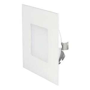 led wandeinbauleuchte led panel 27632 eckig warmwei 75x75mm ekk a 230v 2 2w 33lm ip20 f r up dose. Black Bedroom Furniture Sets. Home Design Ideas
