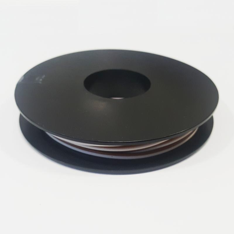zwillings kabel litze wei braun 2x 0 14mm 10 meter. Black Bedroom Furniture Sets. Home Design Ideas