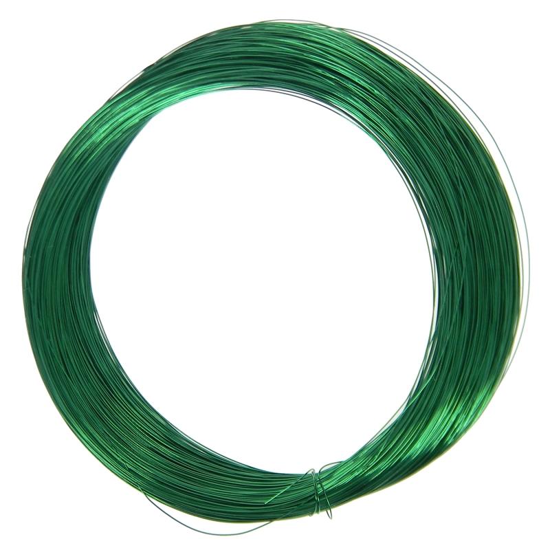 23 Meter grüner Cu Lackdraht GRÜN 0,4mm Kupferlackdraht Draht
