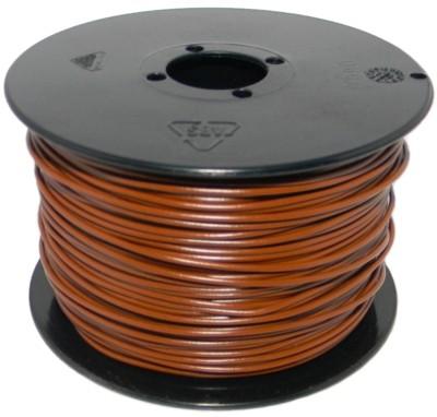 kabel litze braun 0 14mm 100 meter. Black Bedroom Furniture Sets. Home Design Ideas