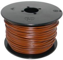 kabel litze braun 0 25mm 100 meter. Black Bedroom Furniture Sets. Home Design Ideas