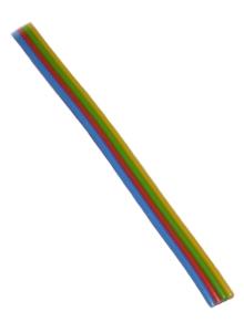 1 78 m 5m rgb led kabel 4x 0 25mm 4 adrig blau rot gr n gelb f r strips co. Black Bedroom Furniture Sets. Home Design Ideas