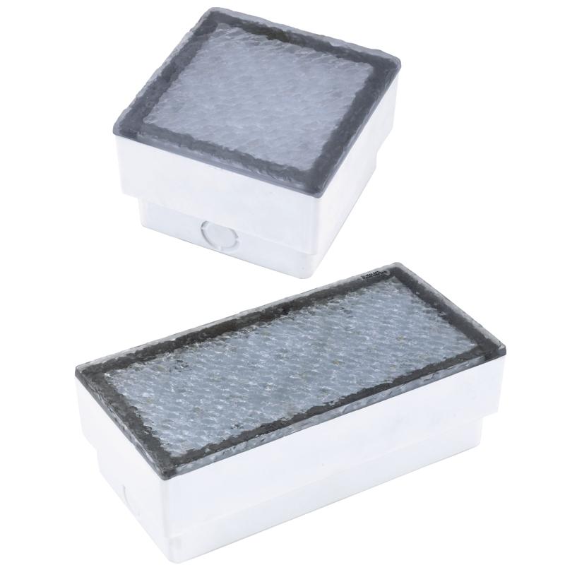 led pflasterstein leuchte 230v boden einbauleuchte beleuchteter. Black Bedroom Furniture Sets. Home Design Ideas