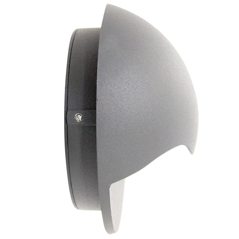 led wand leuchte donna 189lm 6w 230v ip44 cree leds wand strahler au enbereich ebay. Black Bedroom Furniture Sets. Home Design Ideas