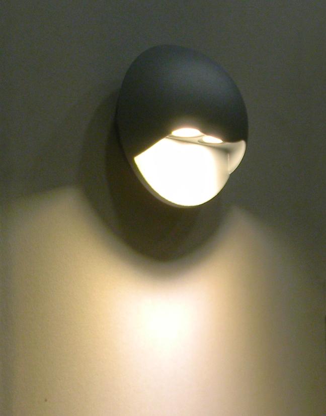 led wand leuchte donna 189lm 6w 230v ip44 cree leds. Black Bedroom Furniture Sets. Home Design Ideas
