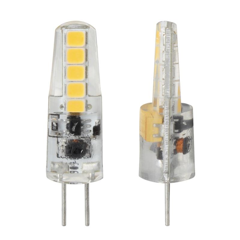 mini Led Stiftsockel-Lampe G4 Silikon W2 warmweiß 190lm 300° 12V DC ...