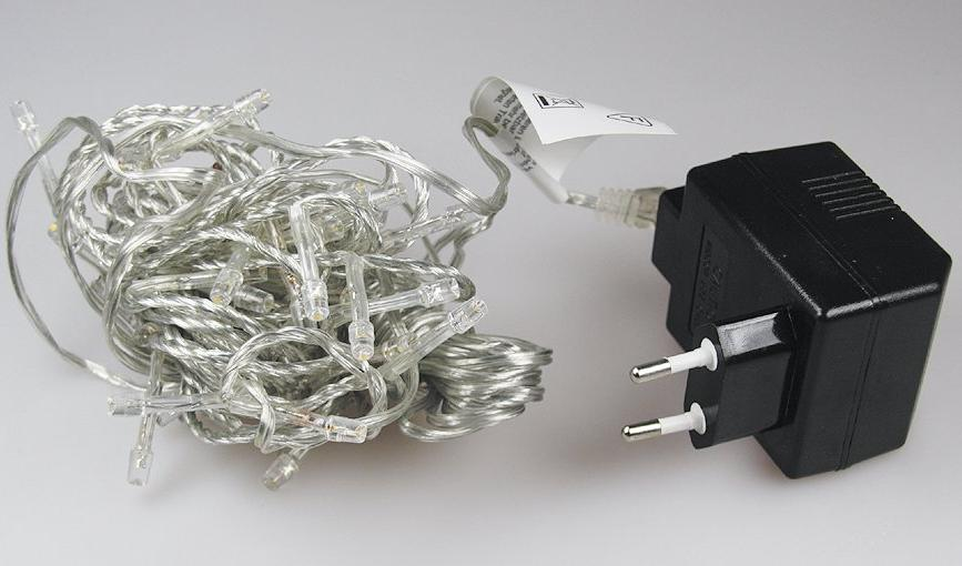 5m led lichterkette warmwei mit 50 leds f r innen transparentes kabel 23. Black Bedroom Furniture Sets. Home Design Ideas