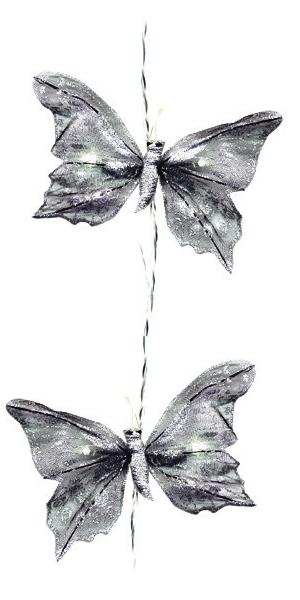 design led lichterkette butterfly 4 2m mit 10 leds f r innen. Black Bedroom Furniture Sets. Home Design Ideas