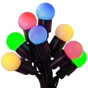 in outdoor led party lichterkette mehrfarbig 40 bunte leds inkl trafo. Black Bedroom Furniture Sets. Home Design Ideas