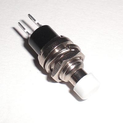 miniatur-Taster-WEIss-250V-1A-DRUCKTASTER-Schliesser