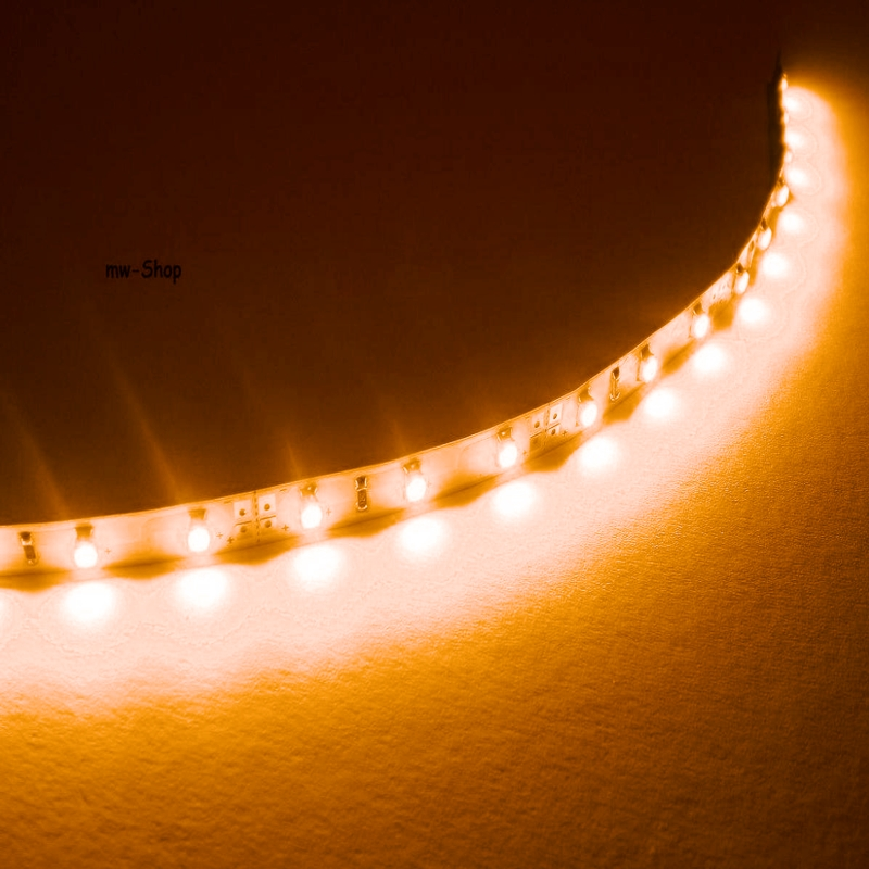 5m smd led stripe orange flexibel ip20 12v strip leiste streifen. Black Bedroom Furniture Sets. Home Design Ideas
