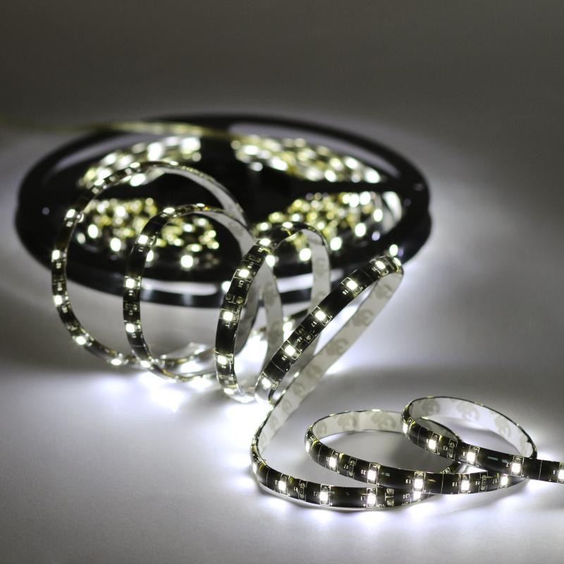 0 6m smd led leiste strip wei ip44 flexibel 12v mit 36 smds leds stripe. Black Bedroom Furniture Sets. Home Design Ideas
