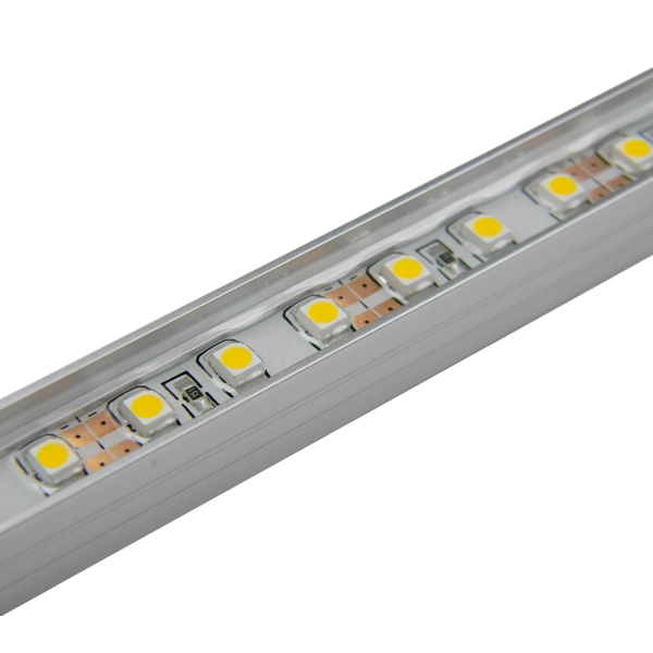 LED Leiste In Alu-Profil WARMWEIß 60 SMD 50cm Starr, IP65