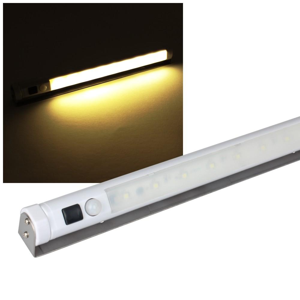 wireless led under cabinet light motion sensor warm white battery ebay. Black Bedroom Furniture Sets. Home Design Ideas