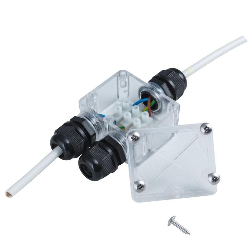 Verteilerdose 2-fach IP67 max. 230V 2300W